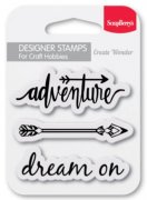 Clearstamp - Dream On - Scrapberry's