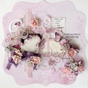 Paper Blooms 15mm - Kaisercraft - 10 st Dusty Pink