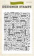 Clear Stamp - Echo Park - Glasses - Background