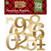 Echo Park Die cuts - Celebrate Christmas - Decorative Numbers