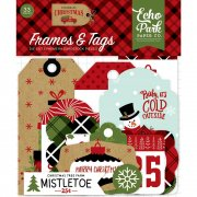 Echo Park Die cuts - Celebrate Christmas - Frames & Tags