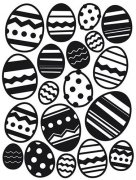 Embossing Folder - Easter Egg