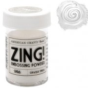 Embossingpulver Zing - Opaque White