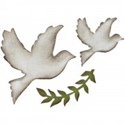 Dies Sizzix Bigz - Enchanted Doves