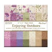 "Paper Pad 48 ark Maja Design 6""x6"" - Enjoying Outdoors"