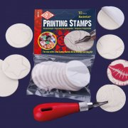 Essdee - 45mm Self Adhesive Printing Stamps