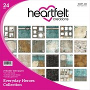 Paper Pad 12x12 - Heartfelt Creations - Everyday Heroes