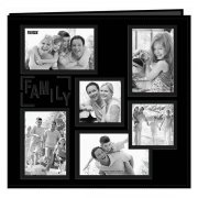 "Album 12""x12"" Pioneer - Sewn Embossed Collage Frame - Family"