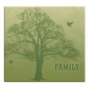 "Album 12""x12"" MBI - Family Tree Post Bound - Green"