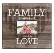 "Album 12""x12"" MBI - Family Love Post Bound - Dark Wood"