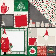 Papper Bo Bunny - Merry & Bright - Father Christmas