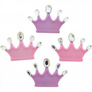 Figur Knappar - Princess Crowns - Prinsesskronor