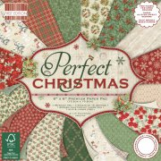 "First Edition Paper Pad 6""x6"" - Perfect Christmas"