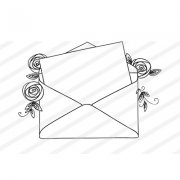 Clear Stamps Nellie Snellen - Love Letter