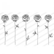 Clear Stamps Nellie Snellen - Roses