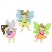 Knappar Figurer - Flower Fairies