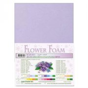 Flower Foam A4 - Light Violet