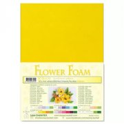 Flower Foam A4 - Sunflower Yellow