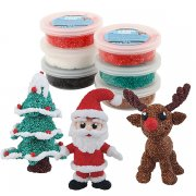 Foam Clay Lera - 6-pack - Christmas Set