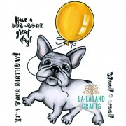 Stämpel La-La Land - Balloon Frenchie