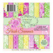 Paper Pad 6x6 - LemonCraft - Fresh Summer