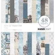 Paper Pad 12x12 - Hel kollektion Frosted - Kaisercraft