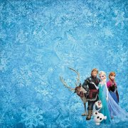 Papper Disney - Frozen - Together