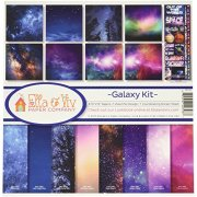 Paper Kit 12x12 - Ella & Viv - Galaxy