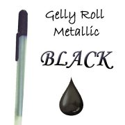 Gelly Roll Penna - Metallic Black