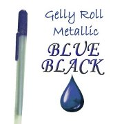 Gelly Roll Penna - Metallic - Blue/Black
