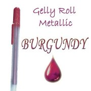 Gelly Roll Penna - Metallic Burgundy