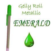 Gelly Roll Penna - Metallic Emerald