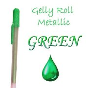 Gelly Roll Penna - Metallic Green