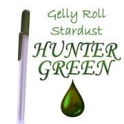 Gelly Roll Penna - Metallic Hunter Green