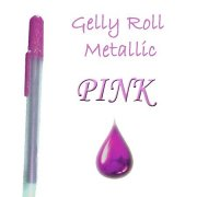 Gelly Roll Penna - Metallic Pink