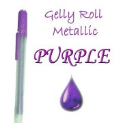 Gelly Roll Penna - Metallic Purple
