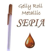 Gelly Roll Penna - Metallic Sepia