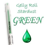 Gelly Roll Penna - Stardust Green