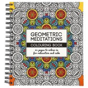 Målarbok Mindfulness - Antistress Coloring - Geomatric