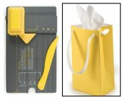 Gift Bag Punch Board We R Memory Keepers - Yellow