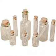 Idea-Ology Corked Glass Vials 9 st - Tim Holtz