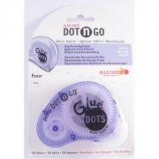 Dot'n'Go - Glue Dots i Kassett 10 mm Poster