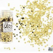 Konfetti Stars Gold 3mm