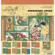 Graphic 45 12x 12 Paper collection kit - Christmas Magic