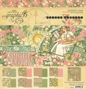 Graphic 45 12x 12 Paper collection kit - Garden Goddess - 16 ark