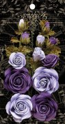 Graphic 45 French Lilac & Purple Royalty Flowers