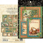 Graphic 45 Journaling & Ephemera Cards - Christmas Magic