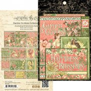 Graphic 45 Journaling & Ephemera Cards - Garden Goddess