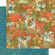 Graphic 45 Papper - Christmas Magic - Merry Memories