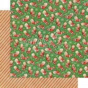 Graphic 45 Papper - Christmas Magic - Santa's Little Helpers